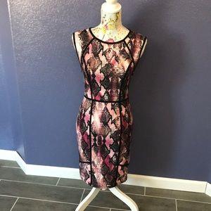 J. Lo Pink Snake Skin Dress